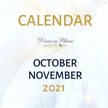 October/November Calendar of Events 2021