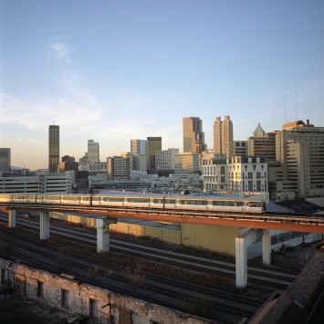 We Are Moving With MARTA Rail Service!