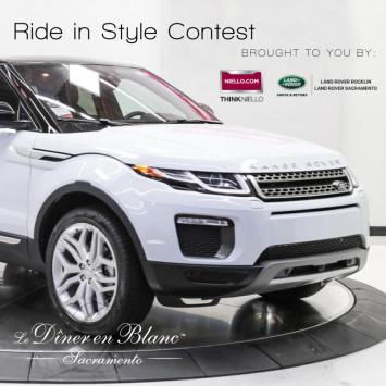 Niello Land Rover joins Diner en Blanc as official Partner