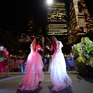 Performing Artists of New York's Dîner en Blanc 2013