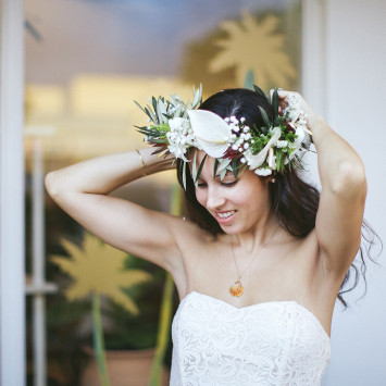 Floral Crowns en Blanc