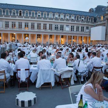 Le Diner en Blanc de Paris 2015 - 27e édition