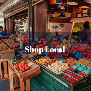 Le Dîner en Blanc - Shop Local