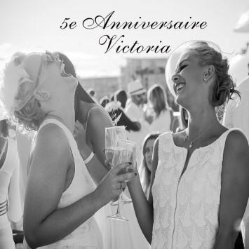 Le Dîner en Blanc – Victoria fête ses 5 ans