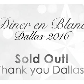 Diner en Blanc Dallas 2015 - SOLD OUT!