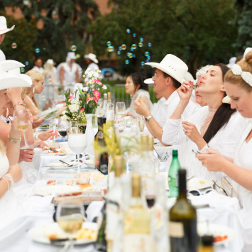 Save-the-Date! Dîner en Blanc - Calgary Returns for 2015