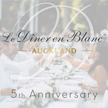 Le Dîner en Blanc - Auckland celebrates its 5th Edition!