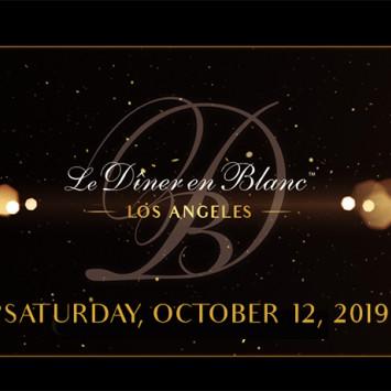 Save the Date - Diner en Blanc - Los Angeles