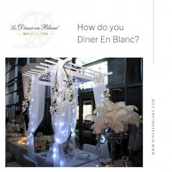 How do you Diner en Blanc