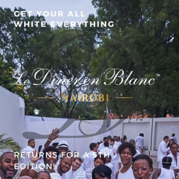 Le Diner en Blanc Nairobi - 5th Edition!