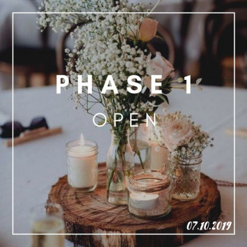 Phase 1 is Open !