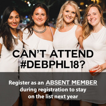 Register as an Absent Member if you can't attend this year!