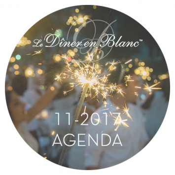 Le Dîner en Blanc - November Calendar 2017