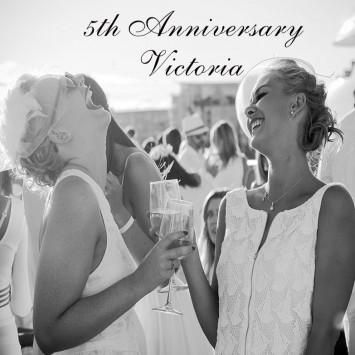 Le Dîner en Blanc – Victoria celebrates its 5th anniversary