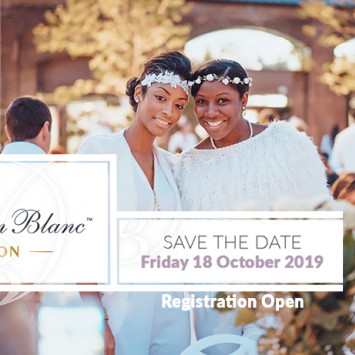 Diner en Blanc Finally Saves a Date!
