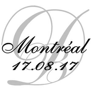 17 août 2017, 9ième édition du Dîner en Blanc de Montréal