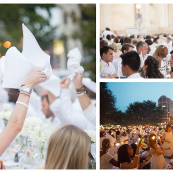 2016 edition of Diner en Blanc SOLD OUT