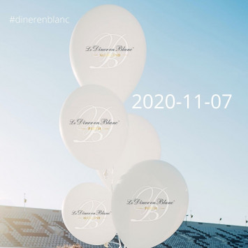 Le Diner en Blanc – THE 2020 NOVEMBER EVENTS!