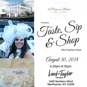 Taste, Sip, and Shop!