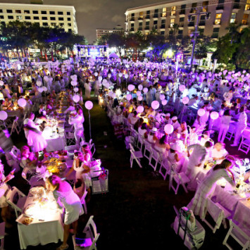 World's largest dinner party' returns to secret West Palm Beach location