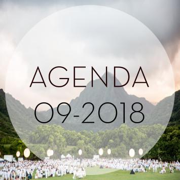 Le Dîner en Blanc – September 2018 Agenda
