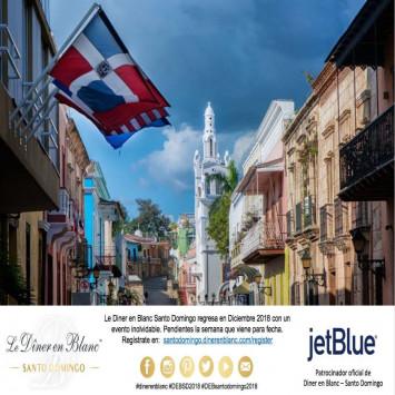 Diner en Blanc Santo Domingo Regresa en Diciembre 2018