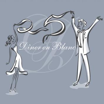 ¡Le Dîner en Blanc celebra su 25 aniversario!