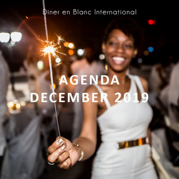 Le Dîner en Blanc - December 2019 Agenda