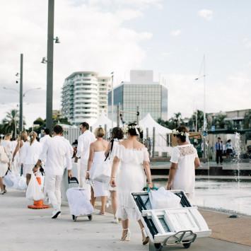 The official video for Diner en Blanc Tauranga 2018