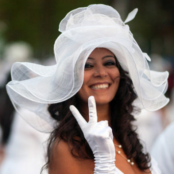 Best hats and masks / Plus beaux chapeaux - DEB de Montréal 2014