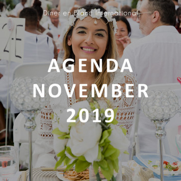 Le Dîner en Blanc – Agenda November 2019