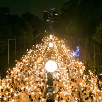 Inolvidable séptima edición de Le Dîner en Blanc Ciudad de México