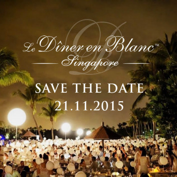 Le Diner en Blanc – Singapore is back on!  New Date: Saturday, 21 November 2015
