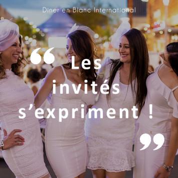 Le Diner en Blanc : les invités s'expriment !