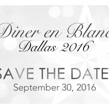 Save the Date for Diner en Blanc 2016!