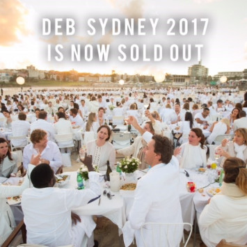 Le Dîner en Blanc - Sydney 2017 is SOLD OUT!