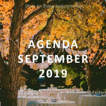 Le Dîner en Blanc September 2019 Calendar