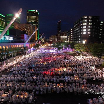 Media Coverage of Montreal's 2014 Dîner en Blanc