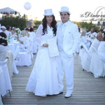 Diner en Blanc Fort McMurray 2017 Media Release