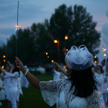 Thank you Diner en Blanc Fort McMurray attendees!