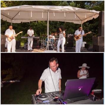 Performing Artists of Dîner en Blanc - Hampton Roads 2015