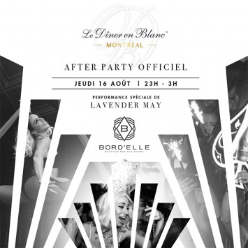 OFFICIAL AFTER PARTY @ BORD'ELLE EN BLANC !
