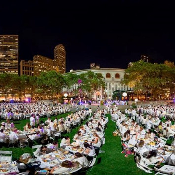 Le Dîner en Blanc returns to New York on August 25th!