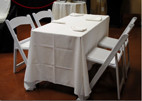 Booking tables and chairs