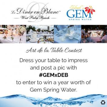 WHO WILL WIN THE ART DE LA TABLE CONTEST #GEMxDEB