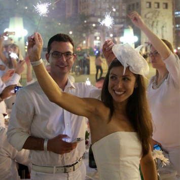 2013 Dîner en Blanc Chicago, What a Success!!!