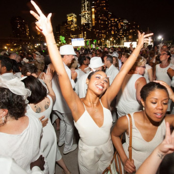 Diner en Blanc Happy Hour Pop-Up