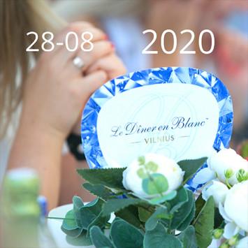 Le Diner en Blanc – THE 2020 AUGUST EVENT!