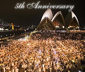 Le Dîner en Blanc – Sydney celebrated 5-year Anniversary!