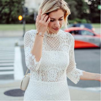 ¡Dress code: Total White!